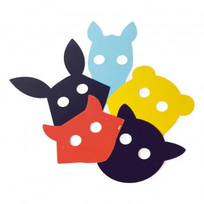 DOIY Masques animaux à dessiner-listing