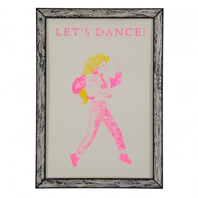 THE prints by Marke Newton Póster Let's Dance 29,7x42 cm-listing