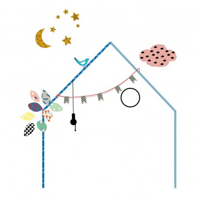 MIMI'lou Sticker Ma petite maison-listing