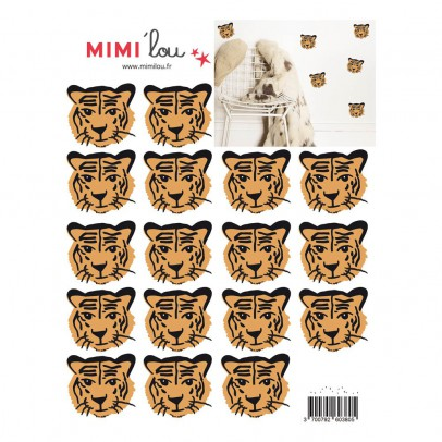 MIMI'lou Planche de stickers Tigres-listing