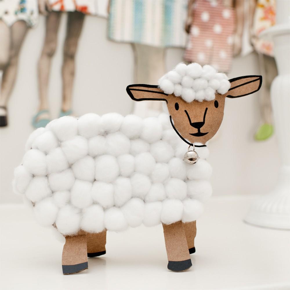 Oh c'est beau ! Kreativ-Set Lamm-product