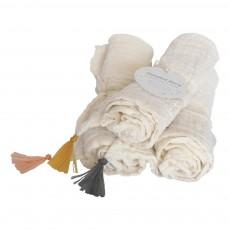 Annabel Kern Square Swaddling Blanket - Pompoms-product