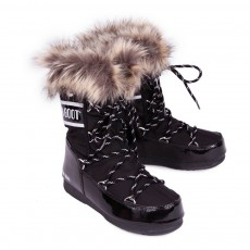 Moon Boot Moon Boot Fausse Fourrure Monaco Low-listing