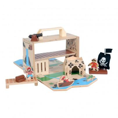 Bass & Bass Malla para transportar - Isla de piratas-listing