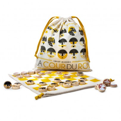 Les Jouets Libres Chess set La cour du roi-listing