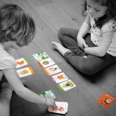 "Les Jouets Libres ""Pic-Assiette"" Food Grabber card game-listing"