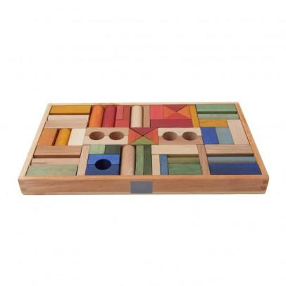 Wooden Story Blocs bois Arc-en-ciel - 54 pièces-listing