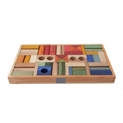 Wooden Story Rainbow wooden blocks - 54 pieces-product