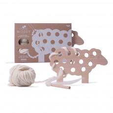 Les Jouets Libres Mouton Woody à lacer - Ecru-listing