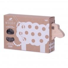 Les Jouets Libres Mouton Woody à lacer - Gris-listing