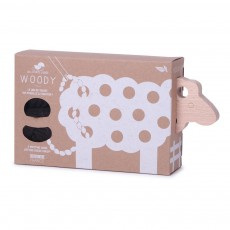 Les Jouets Libres Woody Lacing Sheep - Brown-listing