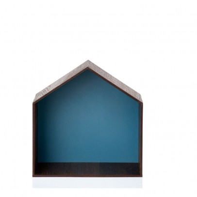 Ferm Living House Shelf - Blue-listing