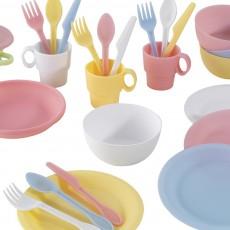 KidKraft Pastel Dining Set - 27 pieces-listing