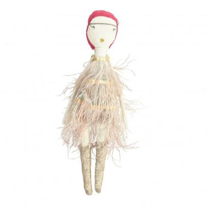 Jess Brown Bambola da collezione in stoffa- Veronica-listing