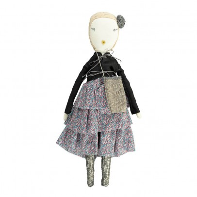 Jess Brown Bambola da collezione in stoffa-Ruby-listing