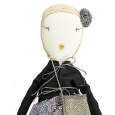 Jess Brown Muñeca de colección en tejido Ruby-listing