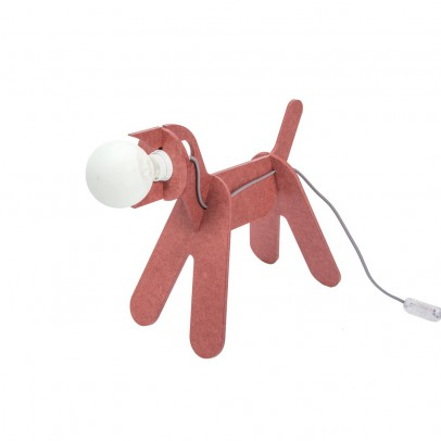 ENO Lampada  Get out dog - Rosso marsala-listing