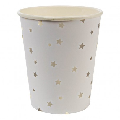 Meri Meri Gobelets en carton étoiles - Lot de 8-listing