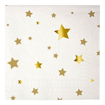 Meri Meri Stars Paper Napkins - Set of 20-product