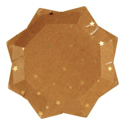 Meri Meri Star Paper Plates - Set of 8-listing