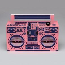 Berlin Boombox Lautsprecher Ghettoblaster-Design 3.0 mit USB-Anschluss-listing