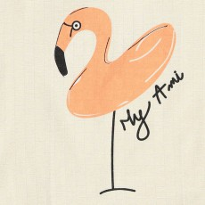Annabel Kern Torchon Flamant rose My ami-listing