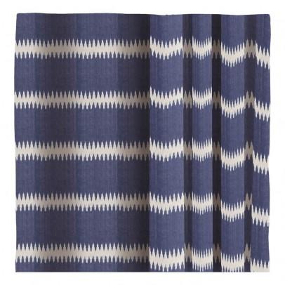 Liv Interior Cortina de algodón Ikat rayas-listing