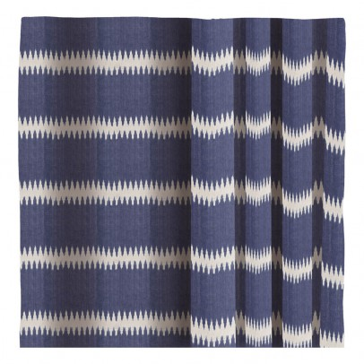 Liv Interior Ikat Striped Cotton Curtains-listing
