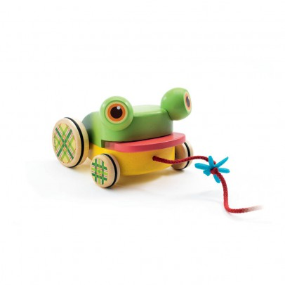 Djeco CroaFroggy Pull-along Frog-product