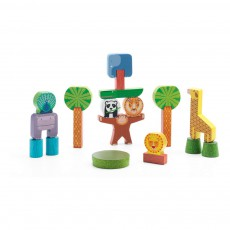 product-Djeco Stacky Jungle Construction Game