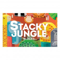 Djeco Stacky Jungle Construction Game-listing