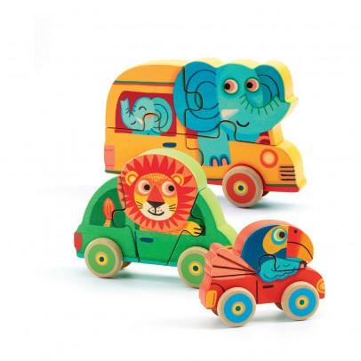 Djeco Puzzle de madera Pachy & Co-listing