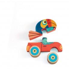 Djeco Puzzle en bois Pachy & Co-listing