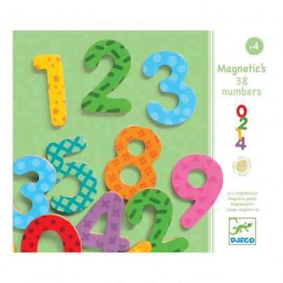 Djeco 38 Magnetic Numbers-listing