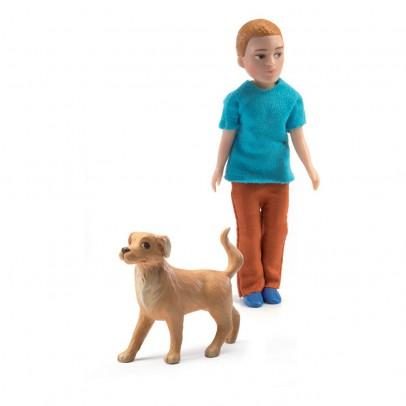 Djeco Xavier y su perro-listing