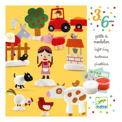 Djeco Farm Playdough-product