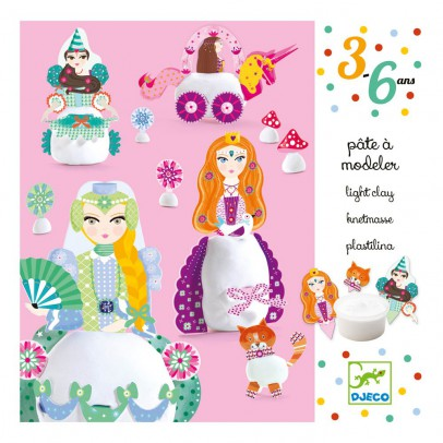 Djeco Princesses Playdough-product