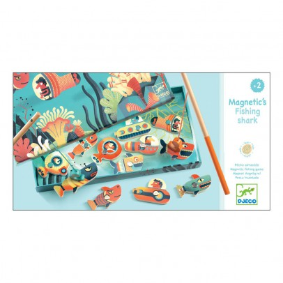 Djeco Fishing Shark Magnetic Game-listing