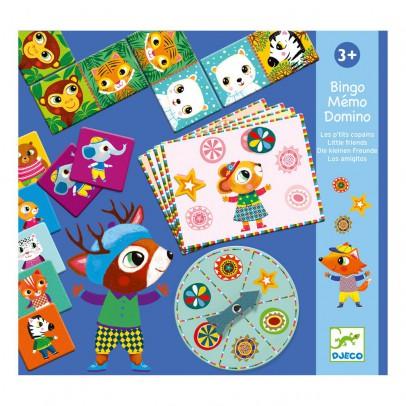 Djeco Bingo Memo Domino - Los amigos-product