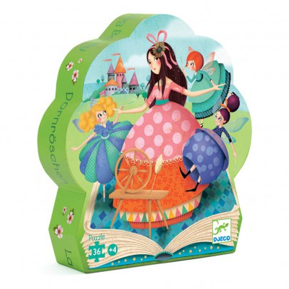 Djeco Sleeping Beauty Puzzle - 24 pieces-product