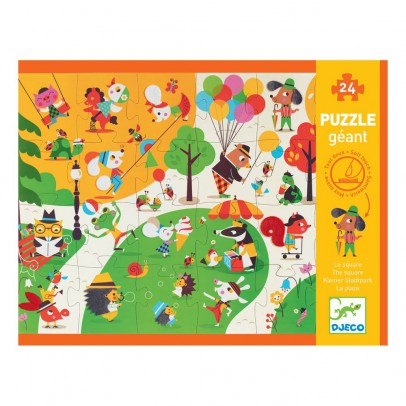 Djeco Puzzle gigante Flocky - Le square-product