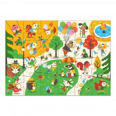 Djeco Puzzle géant Flocky - Le square-listing
