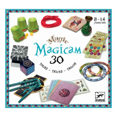 Djeco Magicam 30 towers set-listing