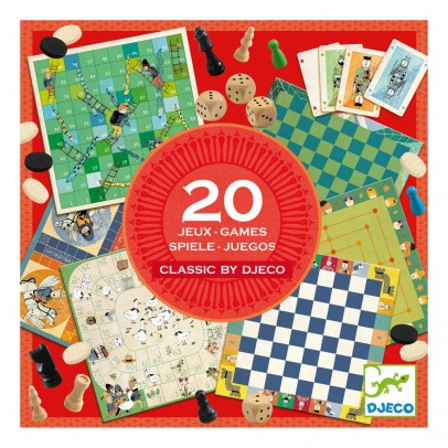 Djeco Classic Games Set-product