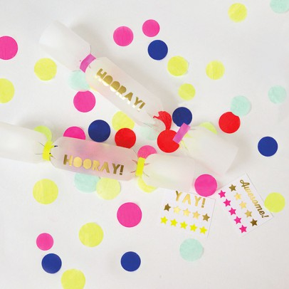 Meri Meri Crackers confettis - Lot de 6-listing