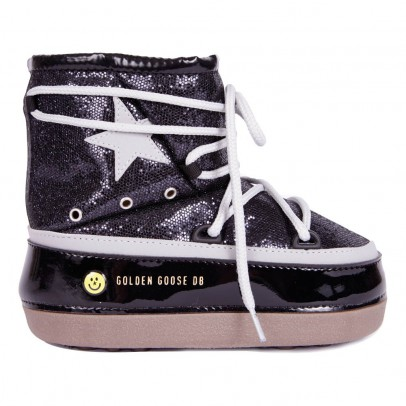Golden Goose Boots Fourrées Paillettes North Star-listing