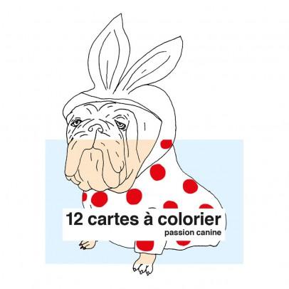 Supereditions Carte da colorare Passione cani-listing