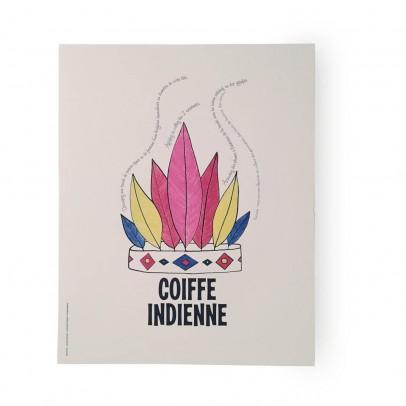 Supereditions Poster Indianer-Kopfschmuck -listing