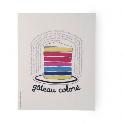 Supereditions Colourful Cake Poster-listing