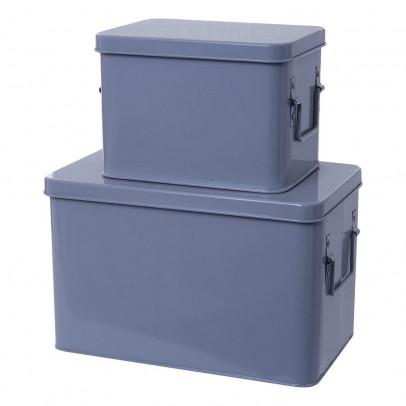 Present Time Boîtes de rangement métal - Set de 2-product